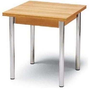Gambe in acciaio per tavoli